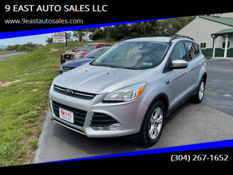 2014 Ford Escape for sale at 9 EAST AUTO SALES LLC in Martinsburg WV