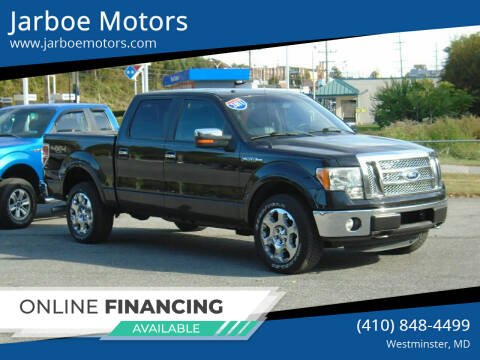 2011 Ford F-150 for sale at Jarboe Motors in Westminster MD