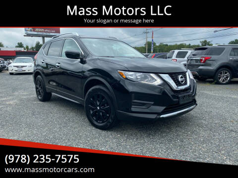 2017 Nissan Rogue for sale at Mass Motors LLC in Worcester MA