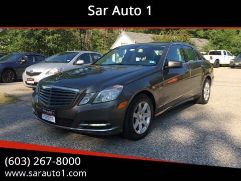 2011 Mercedes-Benz E-Class for sale at Sar Auto 1 in Belmont NH