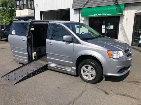 2013 Dodge Grand Caravan Wheelchair Van for sale at Auto Sales Center Inc in Holyoke MA