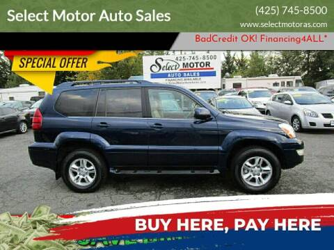 2005 Lexus GX 470 for sale at Select Motor Auto Sales in Lynnwood WA