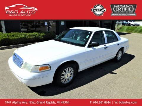 2004 Ford Crown Victoria for sale at B&D Auto Sales Inc in Grand Rapids MI