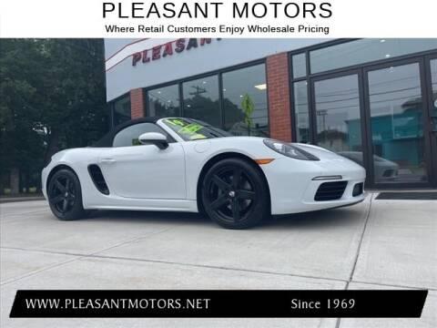 2019 Porsche 718 Boxster for sale at Pleasant Motors in New Bedford MA