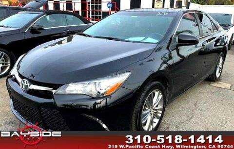 2015 Toyota Camry for sale at BaySide Auto in Wilmington CA