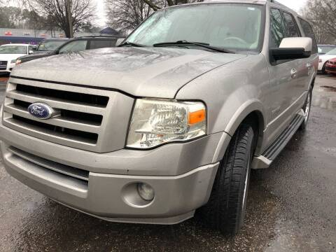 2008 Ford Expedition EL for sale at Atlantic Auto Sales in Garner NC