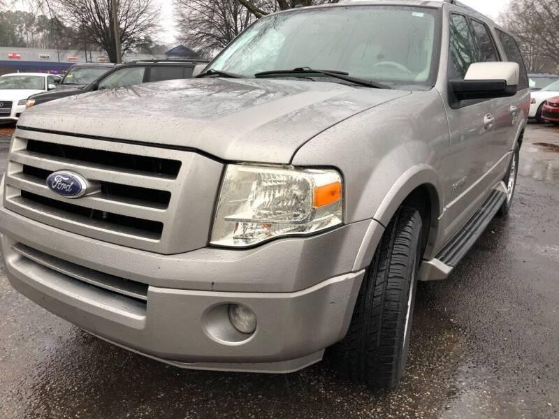 2008 Ford Expedition EL for sale at Atlantic Auto Sales in Garner NC