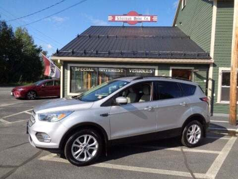 2018 Ford Escape for sale at SCHURMAN MOTOR COMPANY in Lancaster NH