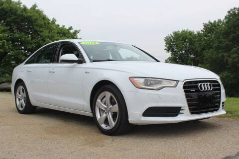 2012 Audi A6 for sale at Harrison Auto Sales in Irwin PA