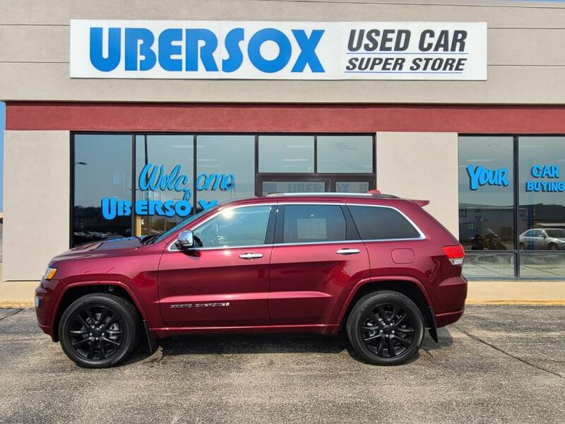 2018 Jeep Grand Cherokee for sale at Ubersox Used Car Superstore in Monroe WI