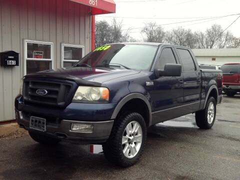2004 Ford F-150 for sale at Midwest Auto & Truck 2 LLC in Mansfield OH
