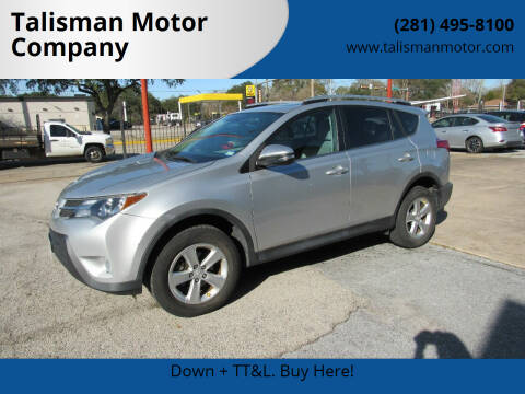 2013 Toyota RAV4 for sale at Don Jacobson Automobiles in Houston TX