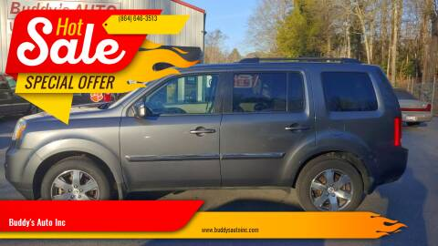 2012 Honda Pilot for sale at Buddy's Auto Inc in Pendleton SC
