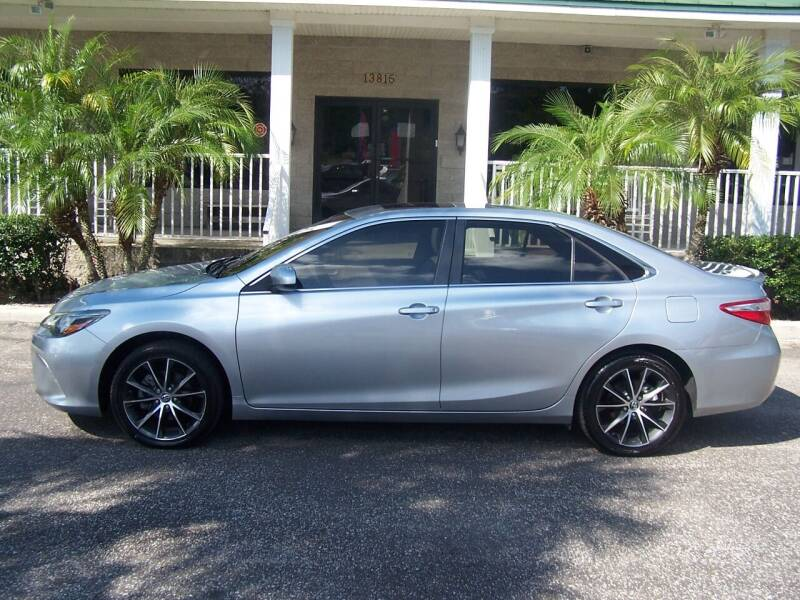 2015 Toyota Camry for sale at Thomas Auto Mart Inc in Dade City FL