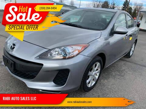 2012 Mazda MAZDA3 for sale at RABI AUTO SALES LLC in Garden City ID