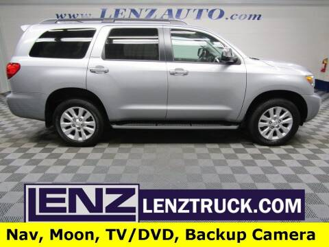 2017 Toyota Sequoia for sale at LENZ TRUCK CENTER in Fond Du Lac WI