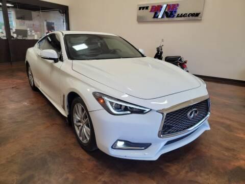 2018 Infiniti Q60 for sale at Driveline LLC in Jacksonville FL