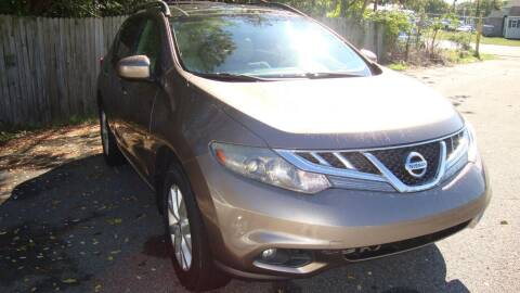 2012 Nissan Murano for sale at Easy Ride Auto Sales Inc in Chester VA