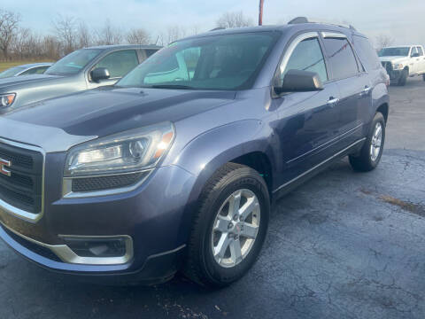 2014 GMC Acadia for sale at EAGLE ONE AUTO SALES in Leesburg OH
