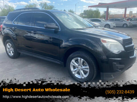2015 Chevrolet Equinox for sale at High Desert Auto Wholesale in Albuquerque NM