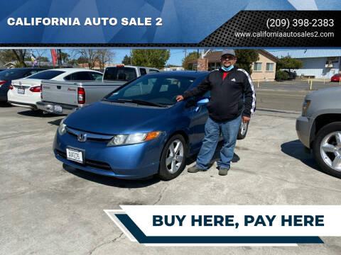 2007 Honda Civic for sale at CALIFORNIA AUTO SALE 2 in Livingston CA