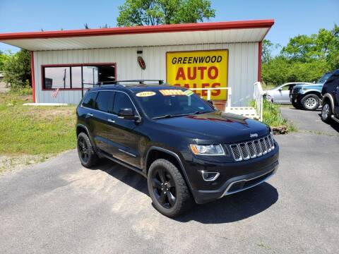 2014 Jeep Grand Cherokee for sale at Greenwood Auto Sales in Greenwood AR