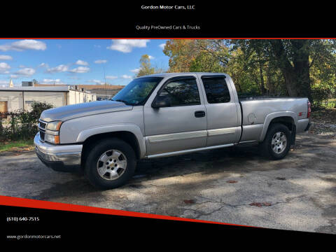 2006 Chevrolet Silverado 1500 for sale at Gordon Motor Cars, LLC in Frazer PA