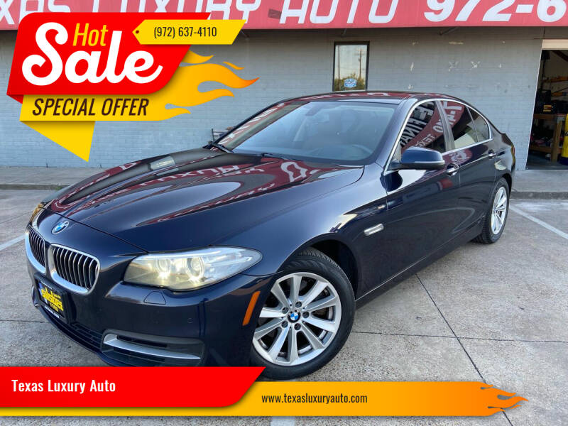 2014 BMW 5 Series for sale at Texas Luxury Auto in Cedar Hill TX