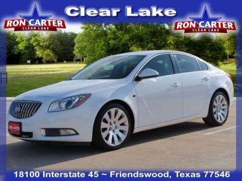 2011 Buick Regal for sale at Ron Carter  Clear Lake Used Cars in Houston TX