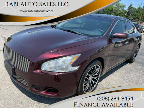 2014 Nissan Maxima for sale at RABI AUTO SALES LLC in Garden City ID