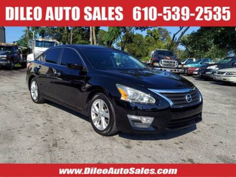 2013 Nissan Altima for sale at Dileo Auto Sales in Norristown PA