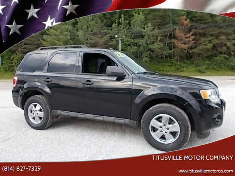 2012 Ford Escape for sale at Titusville Motor Company in Titusville PA