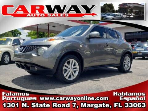 2011 Nissan JUKE for sale at CARWAY Auto Sales in Margate FL