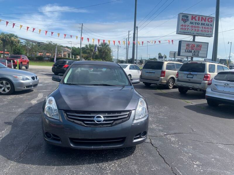 2010 Nissan Altima for sale at King Auto Deals in Longwood FL