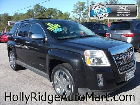 2011 GMC Terrain for sale at Holly Ridge Auto Mart in Holly Ridge NC