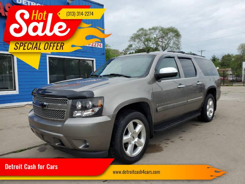 2007 Chevrolet Suburban for sale at Detroit Cash for Cars in Warren MI