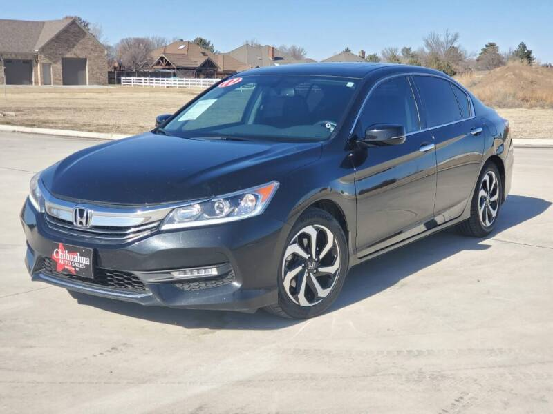2017 Honda Accord for sale at Chihuahua Auto Sales in Perryton TX