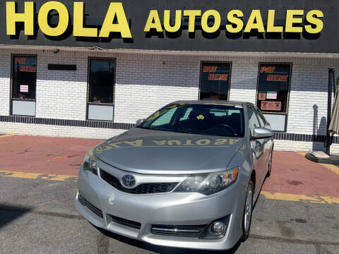 2013 Toyota Camry for sale at HOLA AUTO SALES CHAMBLEE- BUY HERE PAY HERE - in Atlanta GA