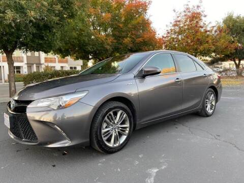 2015 Toyota Camry Hybrid for sale at Chase Remarketing in Fremont CA