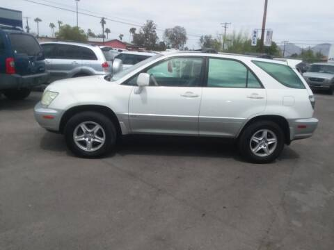2002 Lexus RX 300 for sale at PARS AUTO SALES in Tucson AZ