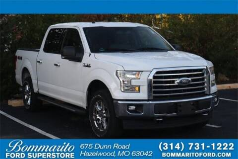 2017 Ford F-150 for sale at NICK FARACE AT BOMMARITO FORD in Hazelwood MO