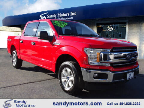 2018 Ford F-150 for sale at Sandy Motors Inc in Coventry RI