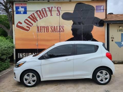 2019 Chevrolet Spark for sale at Cowboy's Auto Sales in San Antonio TX