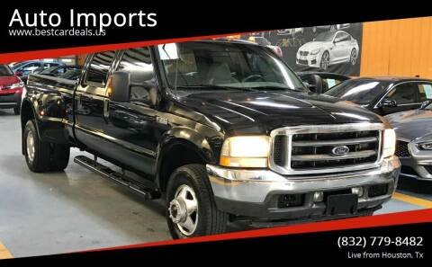 2003 Ford F-350 Super Duty for sale at Auto Imports in Houston TX