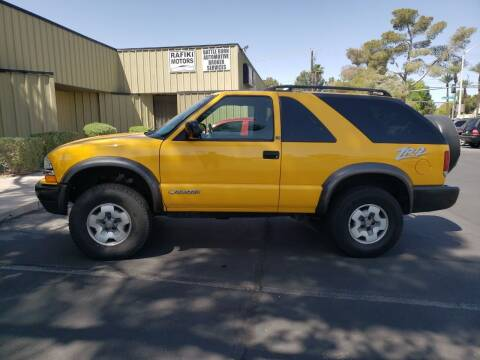 2003 Chevrolet Blazer for sale at RAFIKI MOTORS in Henderson NV
