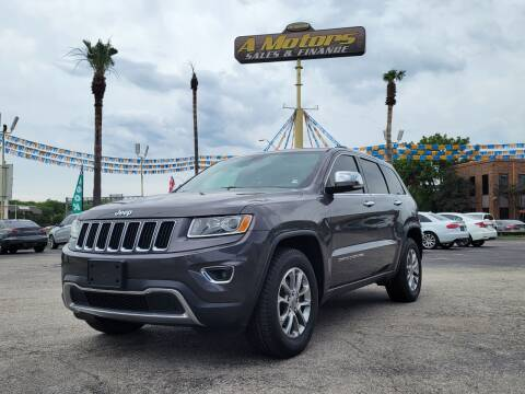 2015 Jeep Grand Cherokee for sale at A MOTORS SALES AND FINANCE in San Antonio TX
