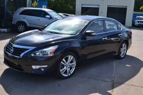 2013 Nissan Altima for sale at Preferable Auto LLC in Houston TX
