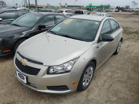 2013 Chevrolet Cruze for sale at BERG AUTO MALL & TRUCKING INC in Beresford SD