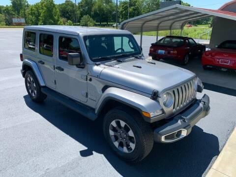 2018 Jeep Wrangler Unlimited for sale at Hillside Motors in Jamestown KY