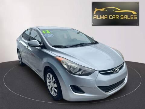 2012 Hyundai Elantra for sale at Alma Car Sales in Miami FL